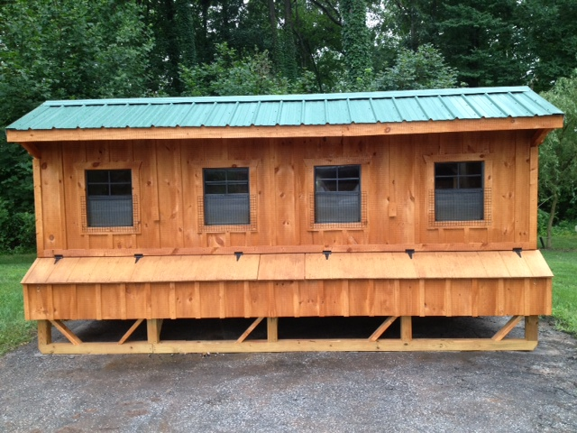 Amish Chicken Pens : Chicken coop amish built coops
